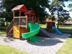 Školní zahrada - velké dětské hřiště